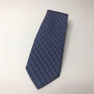 Vineyard Vines Blue Sailboat Printed Silk Tie